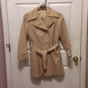 Vintage tan Trench coat